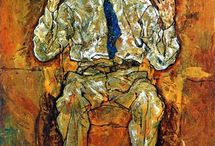 Egon Schiele 1890 - 1918 / Art cannot be modern - Art is primordially eternal. I don't have dirty mind - I have sexy imagination