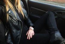 wear black / black..
