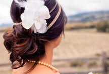 wedding hair / by agent diamond