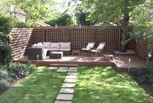 Garden/ backyardliving design