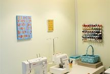 Sewing space ideas