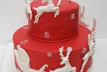 Cake decoration / Ideas for Christmas cake decoration