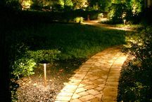 Landscape Lighting / High quality fixtures and a custom designed plan make your landscaping come alive at night.