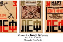 Russian Constructivism / Design movement from 1915 to the 1930s.