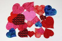 Applique Shapes for DIY / Shapes that you can use to applique on your projects.  Fusible web is already applied to the back of each piece.