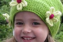 childrens knitted hars