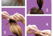 hair bun, twist