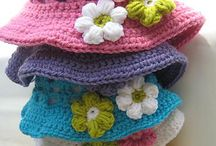 Craft: Crochet-Hats/Kids / Crochet caps for cancer patients of all ages. / by Jeanette Schwarz