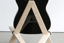 подставка для гитары