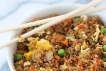 Rice and quinoa