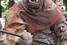 Film  avontuur van de drie helden 2 costumes monsters en knurseltaktieken