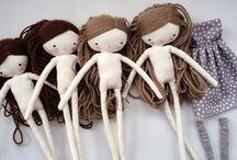 muñecas de trapo❤