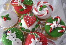 Bolos e doces natalinos