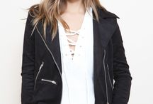 TREND TO TRY: The Moto / Timeless. A bit edgy. Figure flattering. So many ways to wear this piece!