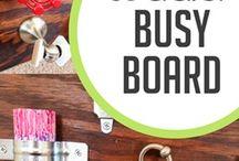 Busy Boards / DIY busy boards