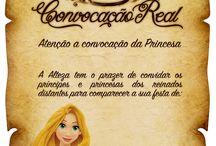 Aniversário Rapunzel / Ideias para uma festa de aniversário da Rapunzel