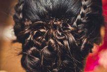 Hair styles Indian wedding