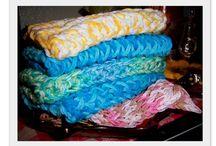 Dish cloths / Loom knitting