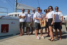 Ibiza - Lanzarote / Sailing 1.000 nautical miles on board Camataran Lagoon 421 between 2 island located at the mediterranean sea one, and atlantic ocean other.
