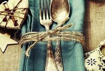 Kersfees tafel