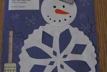 Tvoření s dětmi zima