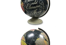Globe Map upcycle. / Upcycling old globes and maps.