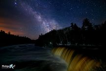 Starry Skies in Michigan / There's no shortage of stargazing opportunities in Michigan. Check out our favorite photos of milky way skies and twinkling stars. / by Pure Michigan