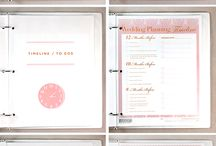 Planning cards - wedding