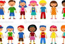Ilustracje dla dzieci do opisania