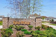Kings Bridge Estates new home community in Plainfield, Illinois / This DJK community located in Plainfield, Illinois is gorgeous. Enjoy several fishing ponds with great views close to Route 59 and Naperville. This community features neo-traditional style homes.