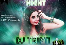 Bollywood Nights! / Time for bollywood bash with none other than DJ Tripti!