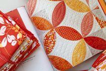 Orange Peel Quilt + Projects