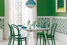 Green Living / A collection of fresh ways to decorate with the color green