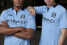 New Manchester City Kit 2012 / by Umbro