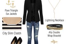"""planches de LOOKS """"Stella and dot"""""""