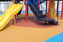EPDM Pour-In-Place Surfacing by Rubber Designs