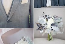 Gray / Silver Wedding Theme