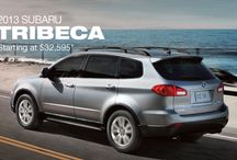 Subaru Tribeca / Room for all the memories you can create. The Subaru Tribeca, wherever you are headed, time spent together will be the time of your life.