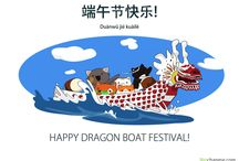 Dragon Boat Festival / The Dragon Boat Festival 2016 is coming! People are going to celebrate it in China but also all around the world. In this board, you'll find all the cities that celebrate it. You'll also discover the main customs of the Dragon Boat Festival!