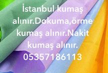 istanbul kumaş alan yerler  05357186113