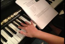 Teaching my little d music