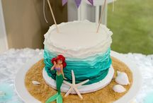 ariel & snowhite birthday party
