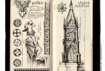 Gothic Doodles