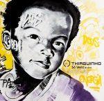Capa do novo álbum de Thiaguinho traz grafite de Marcelo Ment