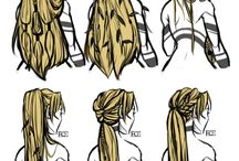 Drawing-Hair