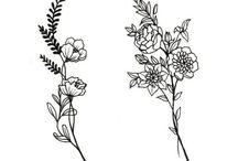 Small flower tatoo