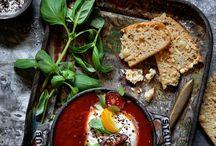 Tomato soup rustic