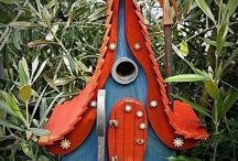 Fairytale Style Birdhouses