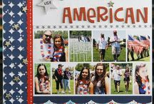 Theme:  4th of July layouts