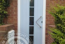 Solidor - Duck Egg Blue Timber Composite Doors /  Solidor Timber Composite Doors #compositedoors #compositedoors #solidorcompositedoor #timbercompositedoors
